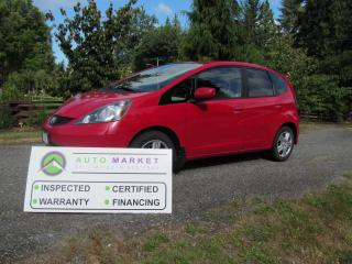 Used 2012 Honda Fit SPORT, AUTO, LOADED, INSP, FREE WARRANTY, FINANCING! for sale in Surrey, BC