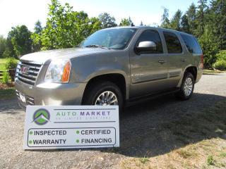 Used 2008 GMC Yukon 4X4, HYBRID, SLT, INSP, WARRANTY, FINANCE for sale in Surrey, BC
