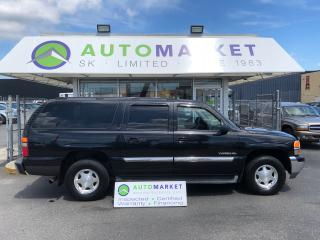 Used 2003 GMC Yukon XL 1500 4WD PEOPLE MOVER! TOY HAULER! for sale in Langley, BC