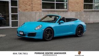 Used 2017 Porsche 911 Carrera Cabriolet (991) w/PDK for sale in Vancouver, BC