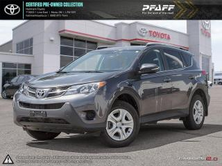 Used 2015 Toyota RAV4 AWD LE LOADED BACK UP CAMERA, BLUETOOTH AND MORE for sale in Mono, ON