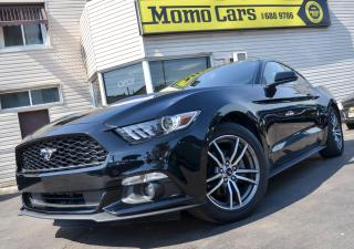 Used 2016 Ford Mustang Manual! BackupCam! Only$153/Bi-weekly! for sale in St. Catharines, ON