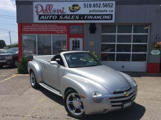 Used 2004 Chevrolet SSR V8 CONVERTIBLE LOW KMS VERY RARE!! for sale in London, ON