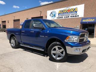 Used 2010 Dodge Ram 1500 SLT 5.7L HEMI - CREW CAB - 4X4 - BLUETOOTH for sale in Aurora, ON