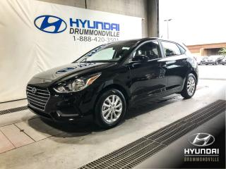 Used 2018 Hyundai Accent GL + MAGS + A/C + ECRAN 7'' + CRUISE + 1 for sale in Drummondville, QC
