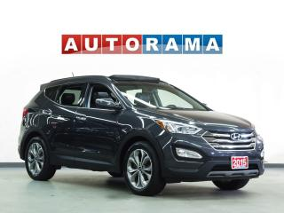 Used 2015 Hyundai Santa Fe NAVIGATION LEATHER SUNROOF 4WD BACKUP CAMERA for sale in North York, ON