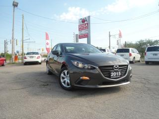 Used 2015 Mazda MAZDA3 AUTO BLUE TOOTH NO ACCIDENT VERY LOW KM SAFETY WAR for sale in Oakville, ON