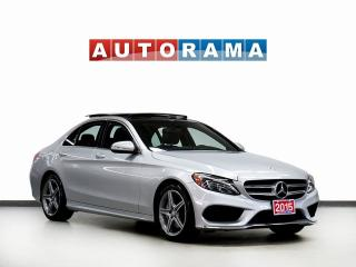 Used 2015 Mercedes-Benz C 300 NAVIGATION LEATHER PAN SUNROOF 4WD BACKUP CAMERA for sale in North York, ON