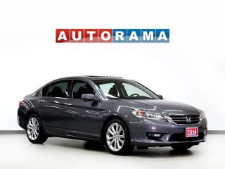 Used 2014 Honda Accord TOURING PKG NAVIGATON LEATHER SUNROOF BACKUP CAM for sale in North York, ON