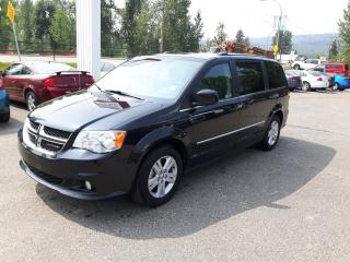 Used 2017 Dodge Grand Caravan Crew Plus for sale in Quesnal, BC