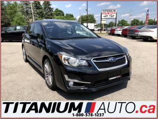 Used 2015 Subaru Impreza Limited+AWD+GPS+Camera+Sunroof+Leather Heated Seat for sale in London, ON