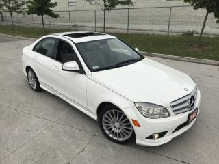 Used 2008 Mercedes-Benz C-Class Leather, Sunroof, Mint, 3/Y warranty available. for sale in North York, ON