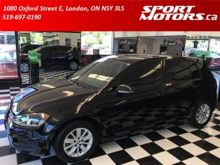 Used 2017 Volkswagen Golf Camera+Bluetooth+HTD Seats+Cruise+Factory Warranty for sale in London, ON