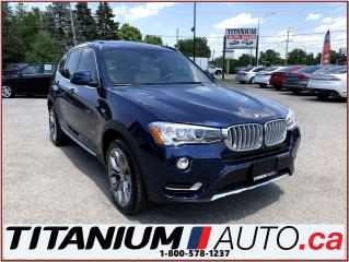 Used 2015 BMW X3 xDrive-GPS-360 Camera-Heads Up Display-Pano Roof for sale in London, ON