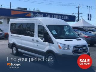 Used 2017 Ford Transit Passenger Wagon EcoBoost, 15 Passenger, Navigation for sale in Vancouver, BC