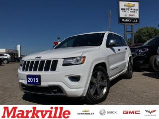 Used 2015 Jeep Grand Cherokee OVERLAND-DIESEL-CERTIFIED PRE-OWNED for sale in Markham, ON
