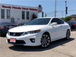 Used 2015 Honda Accord Coupe EX-L w/Navi V6 - Leather - Roof for sale in Mississauga, ON