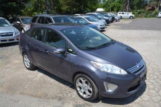 Used 2012 Ford Fiesta 4DR SDN SEL for sale in Hornby, ON