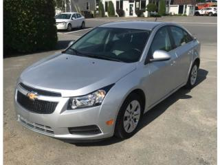 Used 2014 Chevrolet Cruze 1LT ONLY 11K | CERTIFIED for sale in Waterloo, ON