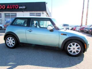 Used 2002 MINI Cooper LEATHER 5 SPEED MANUAL ALLOYS for sale in Milton, ON