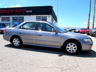 Used 2001 Honda Accord EX SEDAN LEATHER SUNROOF ALLOYS KEYLESS for sale in Milton, ON