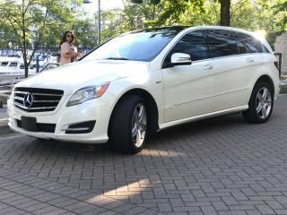 Used 2011 Mercedes-Benz R-Class DIESEL,7 PASS,LOCAL.NO ACCIDENT.DVD for sale in Vancouver, BC