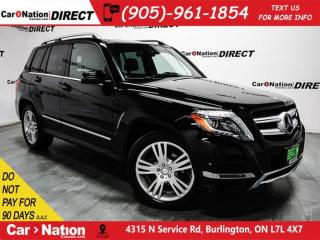 Used 2015 Mercedes-Benz GLK-Class 250 BlueTEC| NAVI| DUAL SUNROOF| for sale in Burlington, ON