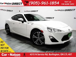 Used 2015 Scion FR-S | TOUCH SCREEN| WE WANT YOUR TRADE| for sale in Burlington, ON