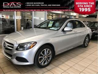 Used 2015 Mercedes-Benz C-Class C300 4MATIC/NAVIGATION/PANORAMIC SUNROOF for sale in North York, ON