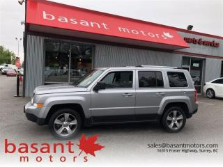 Used 2017 Jeep Patriot High Altitude, Leather, Sunroof, Heated Seats!! for sale in Surrey, BC
