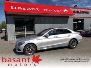 Used 2015 Mercedes-Benz C-Class C300, 4Matic, Panoramic Roof, Blindspot, Nav!! for sale in Surrey, BC