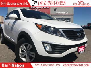 Used 2013 Kia Sportage LX | MANUAL TRANS | HEATED SEATS | USB / AUX for sale in Georgetown, ON