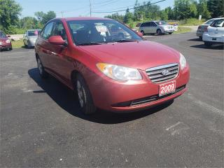 Used 2009 Hyundai Elantra 162k safetied extra rims/tires GL for sale in Madoc, ON