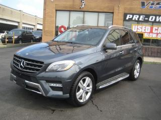 Used 2014 Mercedes-Benz ML-Class ML350 BlueTEC 4MATIC Navi/ Dvd's/ Dual Sunroof for sale in North York, ON