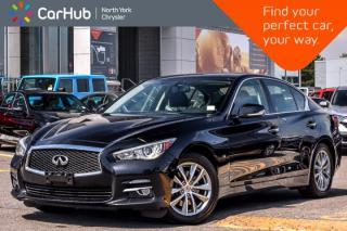Used 2014 Infiniti Q50 Premium AWD|Sunroof|Nav|BackUpCam|Leather|HeatFrntSeats|17