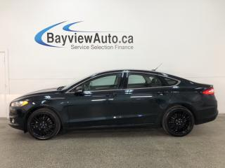 Used 2014 Ford Fusion - ECOBOOST! KEYPAD! HTD LTHR! SYNC! CRUISE! for sale in Belleville, ON
