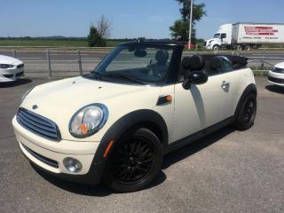 Used 2010 MINI Cooper CONVERTIBLE Beau Convertible for sale in Carignan, QC