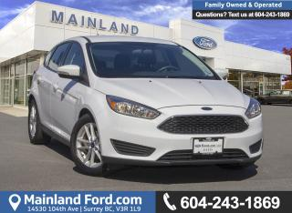 Used 2015 Ford Focus SE *LOCALLY DRIVEN* for sale in Surrey, BC