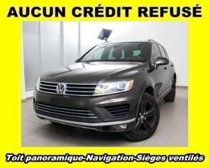 Used 2017 Volkswagen Touareg Wolfsburg 4 Motion for sale in St-Jérôme, QC