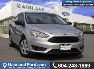 Used 2017 Ford Focus S *LOCALLY DRIVEN* for sale in Surrey, BC