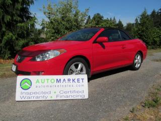 Used 2004 Toyota Solara SLE, LEATHER, INSPECTED, FREE WARRANTY, FINANCE for sale in Surrey, BC