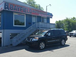 Used 2014 Nissan Armada Platinum 4x4 **Navigation/DVD/Sunroof** for sale in Barrie, ON