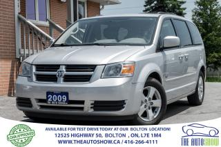 Used 2009 Dodge Caravan 2ROW STOW-N-GO 1 OWNER NEW MICHELIN TIRES + BRAKES for sale in Caledon, ON