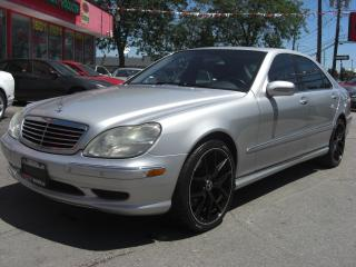 Used 2002 Mercedes-Benz S55 AMG for sale in London, ON