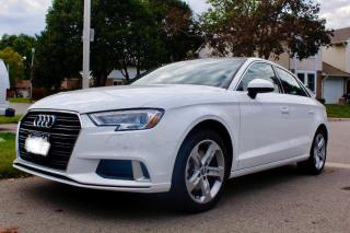 Used 2018 Audi A3 Komfort for sale in Aurora, ON