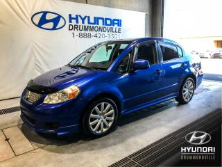 Used 2013 Suzuki SX4 SPORT SEDAN + MAGS + A/C + WOW ! for sale in Drummondville, QC