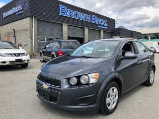 Used 2013 Chevrolet Sonic LT, LOCAL, ACCIDENT FREE, for sale in Surrey, BC