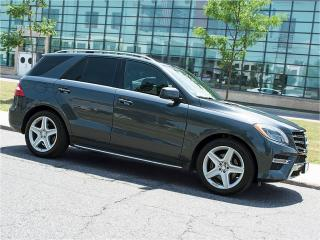 Used 2014 Mercedes-Benz ML 350 AMG|NAVI|360 CAMERA|PANOROOF|RUNNING BOARDS for sale in Scarborough, ON
