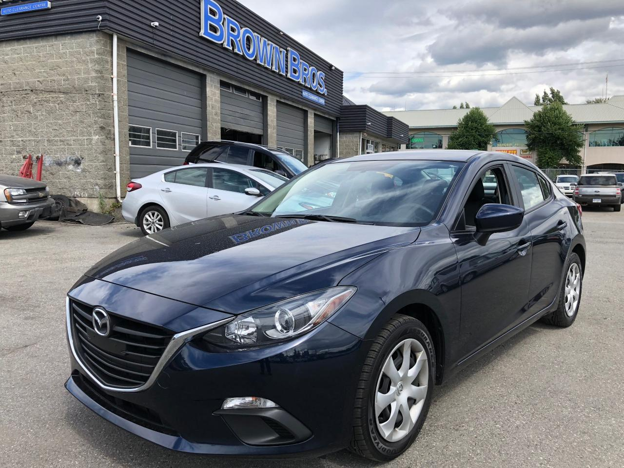 2016 Mazda MAZDA3 GX SPORT, LOCAL, ACCIDENT FREE, BACK UP CAM
