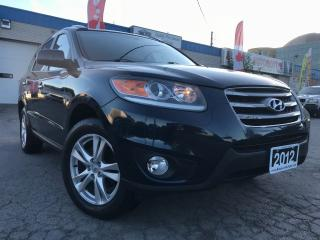 Used 2012 Hyundai Santa Fe LEATHER_SUNRPOOF_BLUETOOTH for sale in Oakville, ON